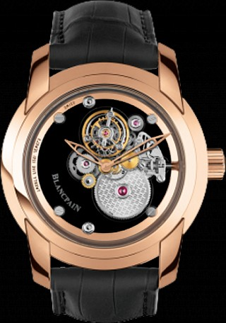 Blancpain L-evolution One-Minute Flying Sapphire Carrousel 00222-3600-53B