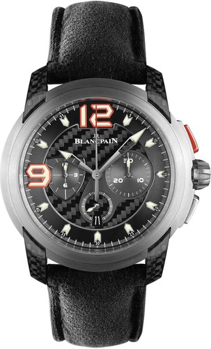 Blancpain L-Evolution Super Trofeo (Black Carbon / Leather)