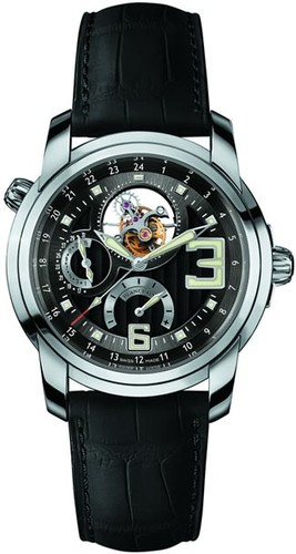 Blancpain L-Evolution Tourbillon (WG / Black / Leather)