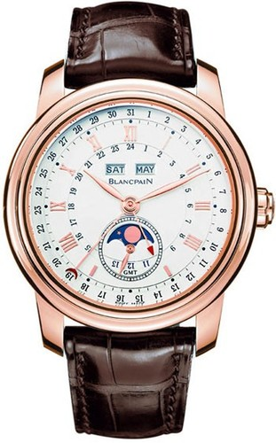 Blancpain Le Brassus Complete Calendar GMT with Moon Phase