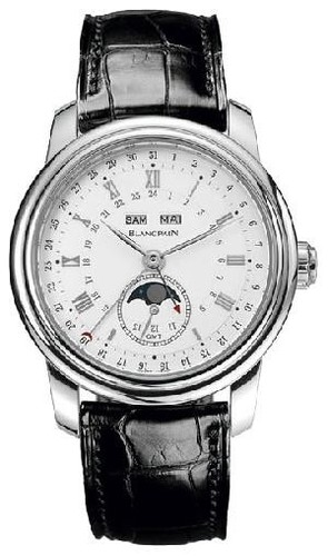 Blancpain Le Brassus GMT Moon Phase (Platinum)