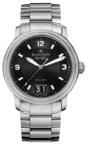 Blancpain Leman Big Date Automatic (SS / Black / SS)