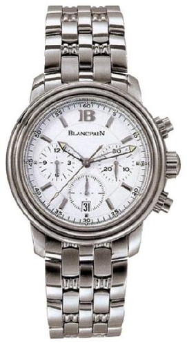 Blancpain Leman Chronograph (Steel / White / Steel)