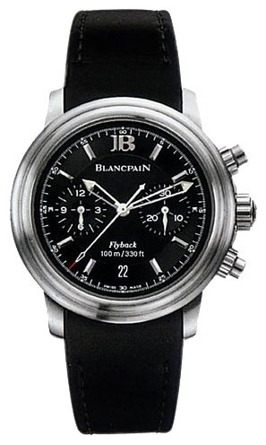 Blancpain Leman Flyback Chrono (Steel / Black / Rubber)