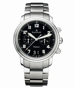 Blancpain Leman Flyback Chronograph Big Date (SS / Black / SS)