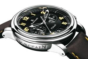 Blancpain Leman Flyback Chronograph Peking to Paris (SS - Yellow)