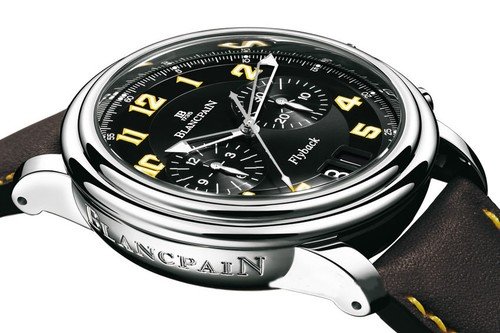 Blancpain Leman Flyback Chronograph Peking to Paris (SS - Yellow)