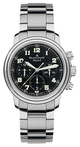 Blancpain Leman Flyback Chronograph (SS / Black / SS)