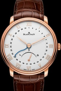 Blancpain Villeret Ultra-Slim Retrograde Small Seconds 6653Q-3642-55B