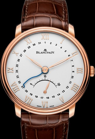Blancpain Villeret Ultra-Slim Retrograde Small Seconds 6653Q-3642-55B