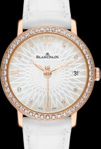 Blancpain Women Ultra-Slim Date 6604-2944-55A