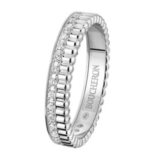 Кольцо Boucheron WEDDING RING QUATRE LUMIERE WHITE GOLD