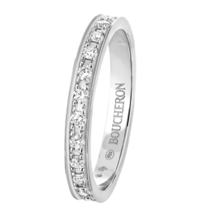 Кольцо Boucheron WEDDING RING QUATRE LUMIERE PLATINUM