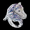 Boucheron Pegase Sapphire Ring
