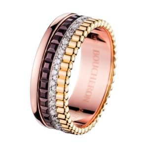Boucheron Quatre Classique Small Ring Diamonds