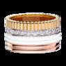 Boucheron Quatre White Edition Large Ring With Diamonds