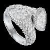 Boucheron Serpent Boheme Small White Gold Toi et Moi Ring