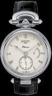 Bovet Fleurier 43 Amadeo Steel (SS / Ivory / Leather) AS43001