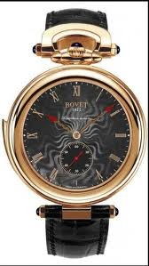 Bovet Fleurier 44 Minute Repeater Amadeo (RG / Black guilloche / Leather) ARMN001