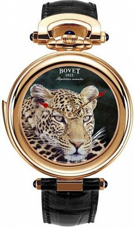 Bovet Fleurier 44 Minute Repeater Amadeo (RG / Leopard / Leather) ARMN501
