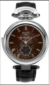 Bovet Fleurier 44 Minute Repeater Amadeo (WG / Brown guilloche / Leather) ARMN002
