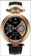 Bovet Fleurier 44 Tourbillon 7-days Amadeo Limited Edition (RG / Black enamel / Leather) AIT7001