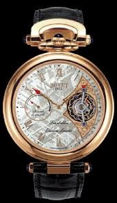 Bovet Fleurier 44 Tourbillon 7-days Amadeo Limited Edition (RG / Silver Meteorite / Leather) AIT7007