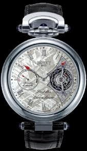 Bovet Fleurier 44 Tourbillon 7-days Amadeo Limited Edition (WG / Silver Meteorite / Leather) AIT7008