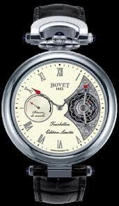 Bovet Fleurier 44 Tourbillon 7-days Amadeo Limited Edition (WG / White enamel / Leather) AIT7002