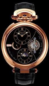 Bovet Fleurier 46 Tourbillon Orbis Mundi Amadeo Limited Edition (WG / Black / Leather) AIOM005