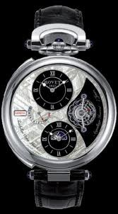 Bovet Fleurier 46 Tourbillon Orbis Mundi Amadeo Limited Edition (WG / Silver Meteorite / Leather) AIOM004