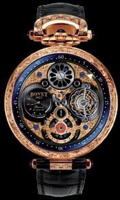 Bovet Fleurier 47 Tourbillon Jumping Hours Amadeo Limited Edition (RG / Openwork / Leather) AIHS003