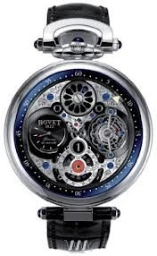Bovet Fleurier 47 Tourbillon Jumping Hours Amadeo Limited Edition (WG / Openwork / Leather) AIHS010