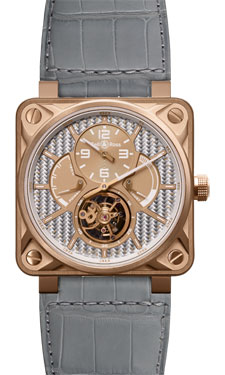 Bell & Ross BR 01 Tourbillon Grey Pink Gold