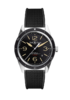 Bell & Ross BR 123 Sport Heritage Rubber