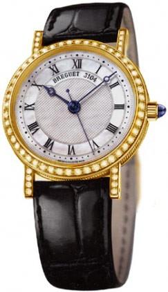Breguet Classique Automatic Ladies (YG / MOP / Diamonds) 8068BA/52/964 DD00