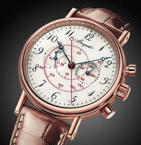 Breguet Classique Chronograph (RG/Silver/Leather) 5247BR/29/9V6
