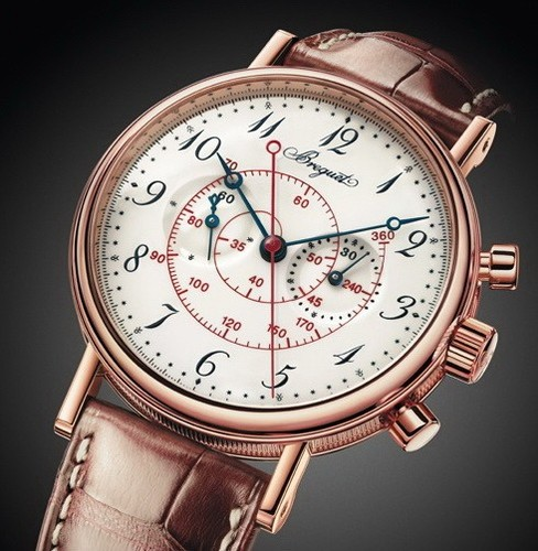 Breguet Classique Chronograph (RG/Silver/Leather) 5247BR/29/9V6