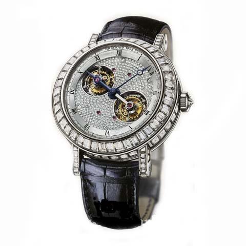 Breguet Classique Double Tourbillon (Platinum / Diamonds) 5349PT/11/9ZU DD0D