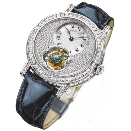 Breguet Grande Complication Tourbillon (WG / Diamonds / Leather) 5359BB/6B/9V6 DD0D