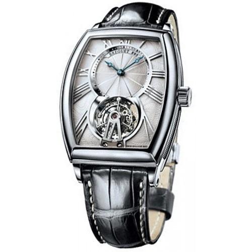 Breguet Heritage Tourbillon (Platinum / Silver / Leather) 5497PT/12/9V6