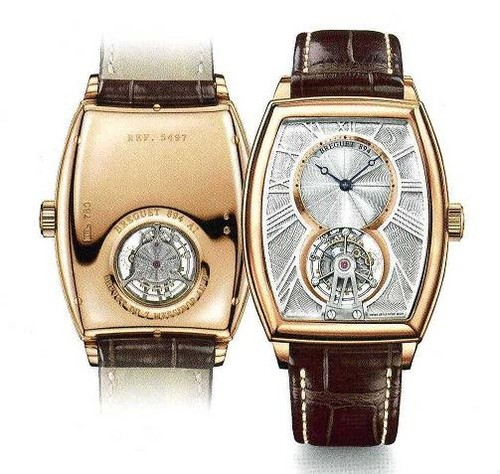 Breguet Heritage Tourbillon (RG / Silver / Leather) 5497BR/12/9V6