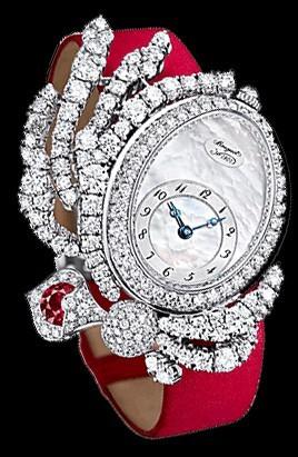 Breguet High Jewelry (WG-Diamonds / MOP / Red) GJE16BB20.8924D01