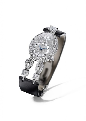 Breguet Le Petit Trianon (WG-Diamonds / Strap) GJE23BB20.8924D01