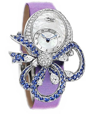 Breguet Les Jardins du Petit Trianon (WG-Diamonds-Sapphires / Purple) GJE20BB20.8924S01