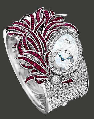 Breguet Plumes (WG-Diamonds-Rubies / MOP) GJE15BB20.8924RB1
