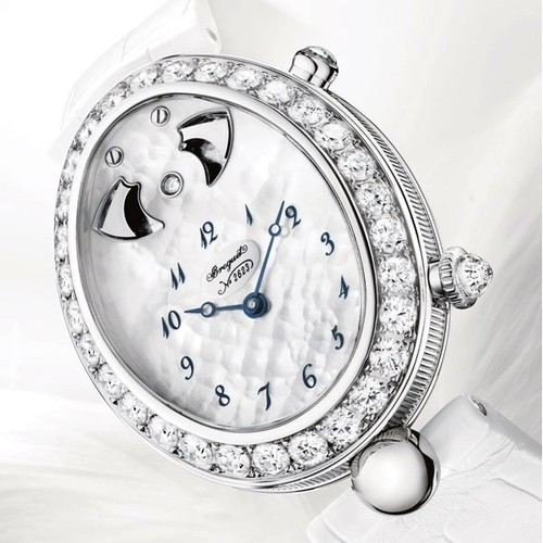 Breguet Reine de Naples Grand Complication (WG-Diamonds) 8978BB/58/974 D00D