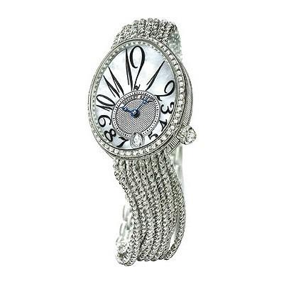 Breguet Reine de Naples (WG-Diamonds / MOP / WG-Diamonds) 8918BB/58/J39 D00D