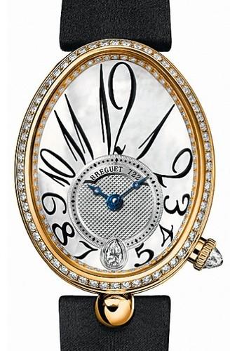 Breguet Reine de Naples (YG-Diamonds / MOP-Numerals / Strap) 8918BA/58/864