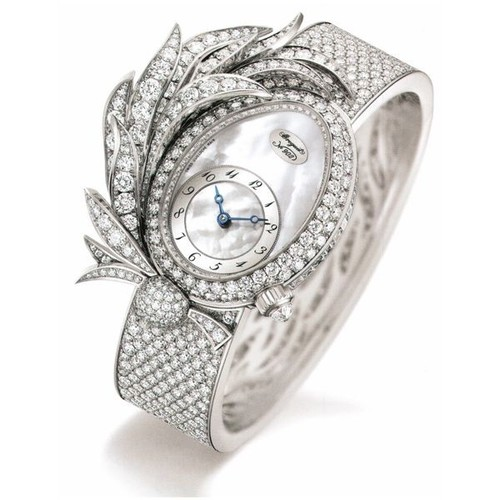 Breguet Reve de Plumes (WG-Diamonds / MOP) GJE15BB20.8924M01